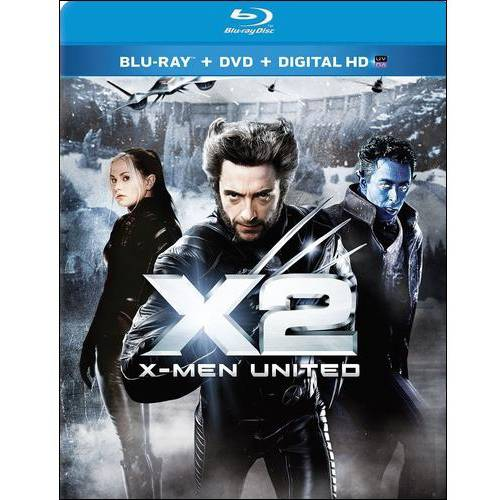 X2: X-Men United (Blu-ray + DVD + Digital HD) (With INSTAWATCH) (Widescreen)