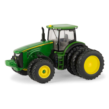 ERTL JOHN DEERE 1:64 SCALE MODEL 8400R 4WD TRACTOR WITH TRIPLES (4wd Tractor Set)