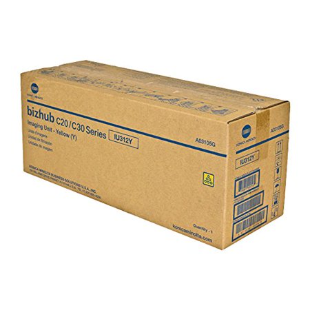 Konica Minolta A03105G Yellow Original Drum Unit (30,000 Yield) (Original Yellow Drum Unit)