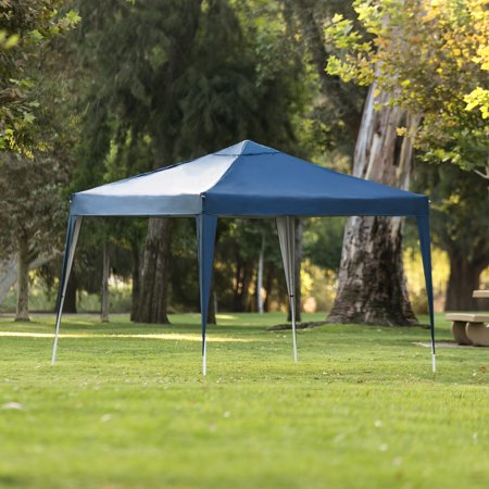 Best Choice Products 10x10ft Outdoor Portable Lightweight Folding Instant Pop Up Gazebo Canopy Shade Tent w/ Adjustable Height, Wind Vent, Carrying Bag - Blue