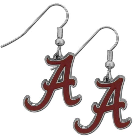 NCAA Florida State Seminoles Chrome Dangle Earrings, Officially licensed College product Licensee: Siskiyou Buckle By