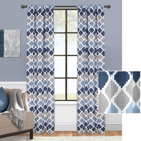 Ombre Pocket (Mainstays Tribal Ombre Window Curtain)