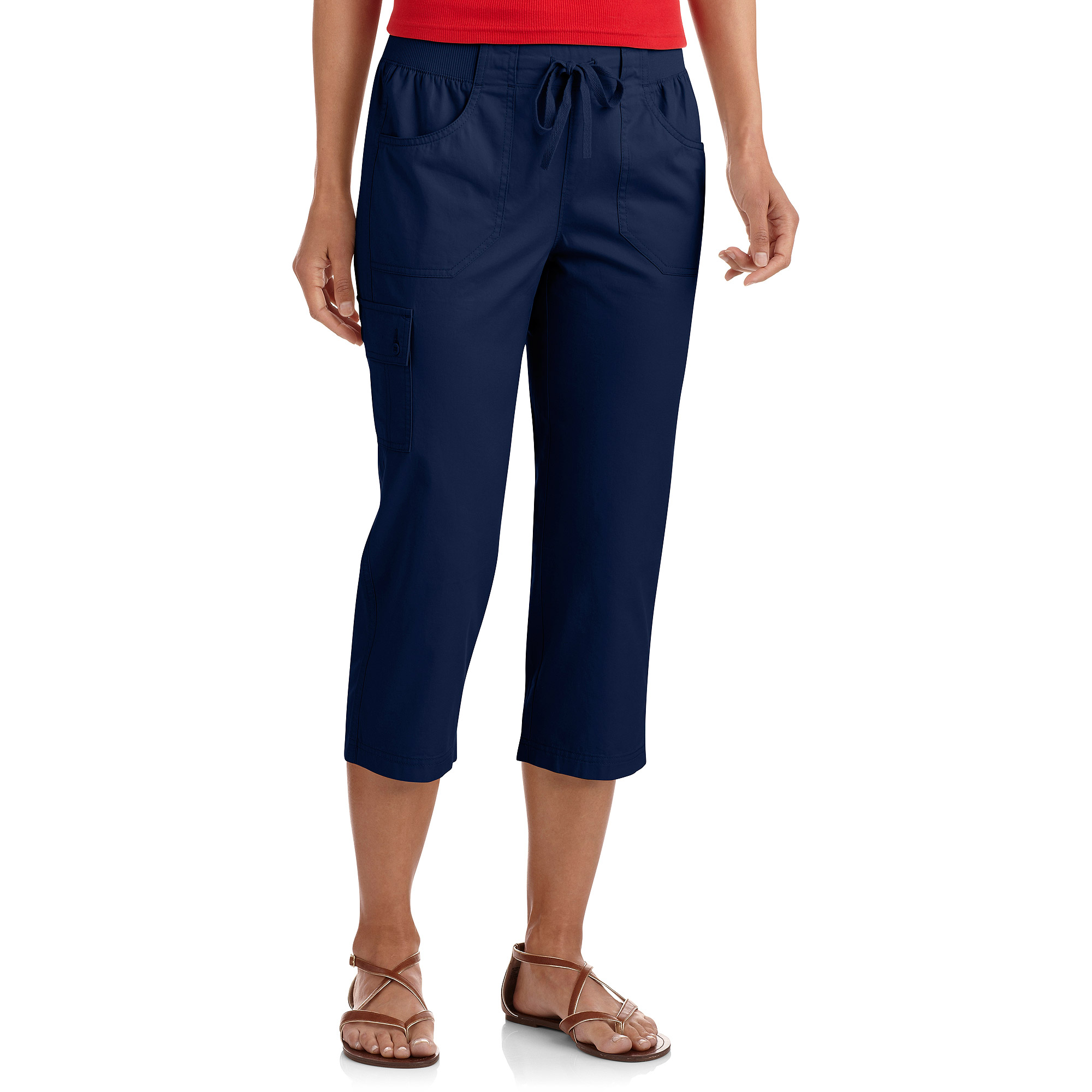 White Stag Women's Cotton Twill Capris
