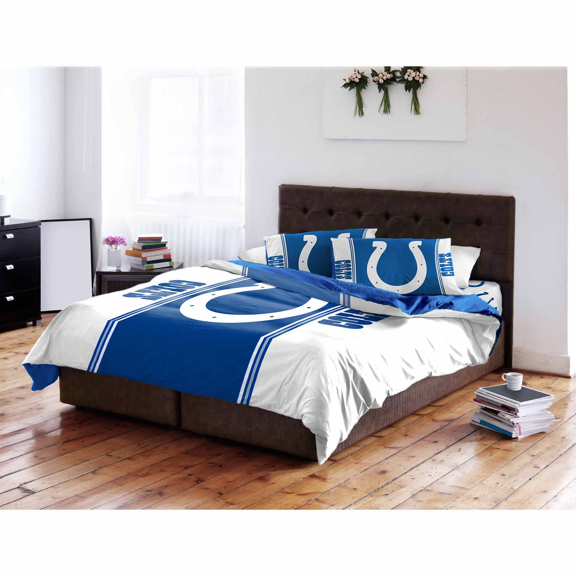 NFL Indianapolis Colts Twin/Full Bedding Comforter