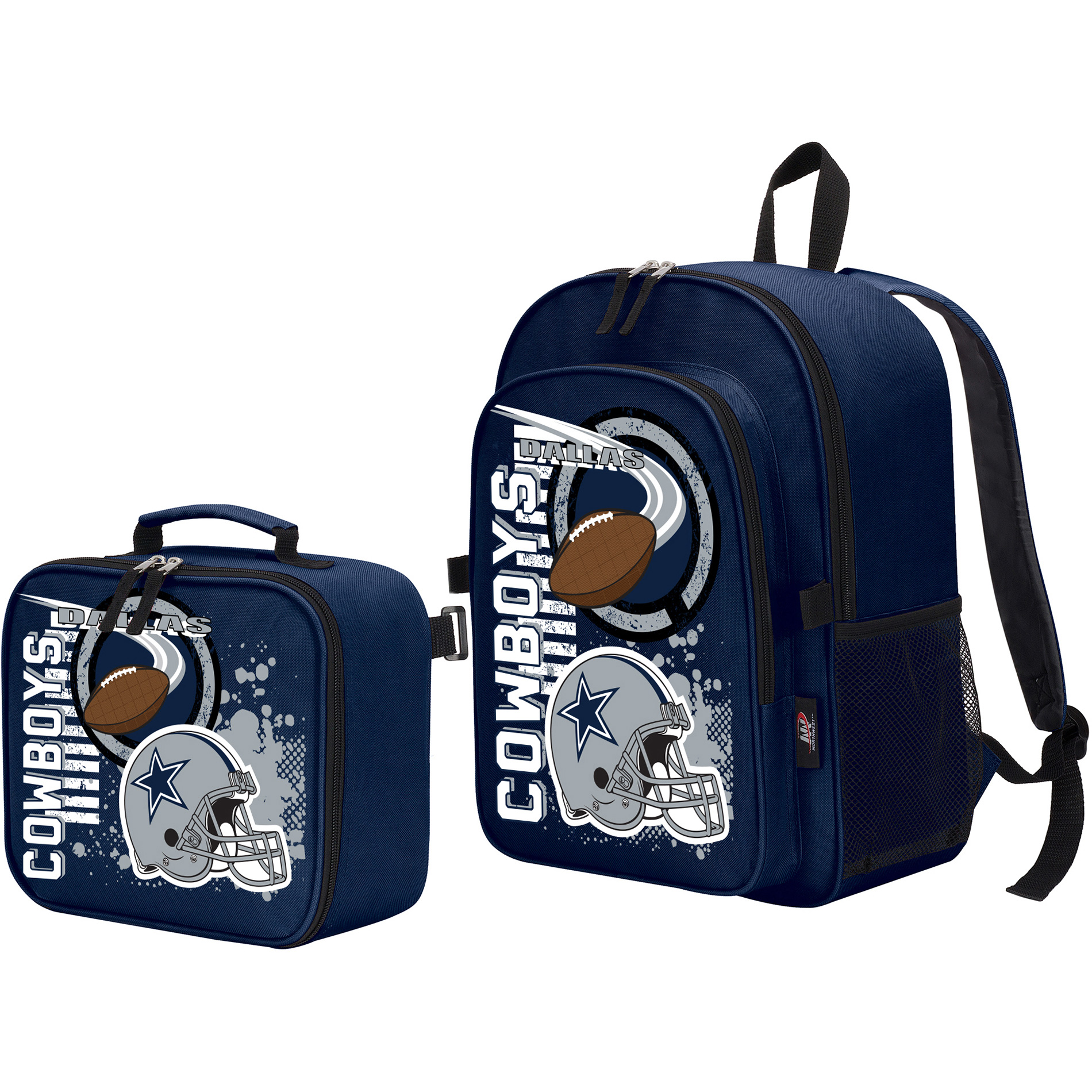 The Northwest Company Dallas Cowboys Accelerator Backpack & Lunchbox - No Size
