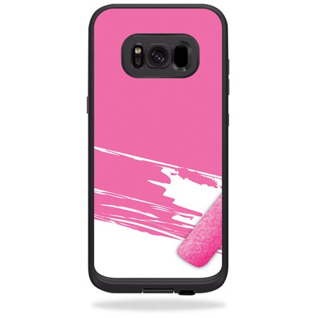Skin for LifeProof Fre case for Samsung Galaxy S8 - Pink Paint Roller | MightySkins Protective, Durable, and Unique Vinyl Decal wrap cover | Easy To Apply, Remove, and Change Styles | Made in the USA
