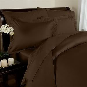 90 Gsm Super Soft Wrinkle Free 4 Pc Sheet Set   Deep Pocket   All Size And Colors   California King Chocolate Brown  1 Flat Sheet  108  X 102   1    By Elegant Comfort