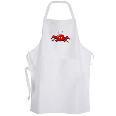 Aprons365 - Classic Red Crab (A) Apron Crustacean Animal Seafood - Imitation Crab Seafood Salad Recipe
