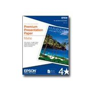 Epson - Matte - 8 in x 10 in 50 sheet(s) paper - for EcoTank ET-3600; Expression ET-3600; WorkForce ET-16500, WF-2750, 2760