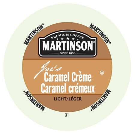 Martinson Coffee Caramel Creme, RealCup portion pack for Keurig K-Cup Brewers, 96 Count