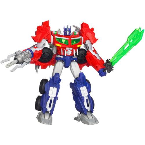 Transformers Prime Beast Hunters Voyager Class Optimus Pr...