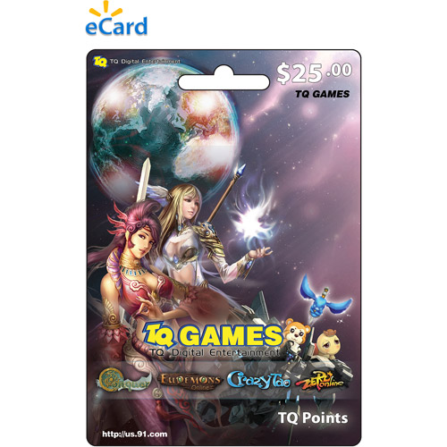 (Email Delivery) NetDragon TQ Game eCard $25 ONLINE