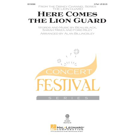 Hal Leonard Here Comes the Lion Guard 2-Part by Beau Black arranged by Alan (Beau Black Here Comes The Lion Guard)