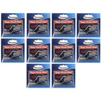 Personna Twin Pivot Plus Refill Blade Cartridges w/ Lubricating Strip for Atra & Trac II Razors 10 ct. (Pack of 10) + Schick Slim Twin ST for Sensitive Skin