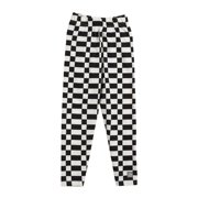 KidCuteTure Little Girls White Black Print Cotton Spandex Leggings 2-6