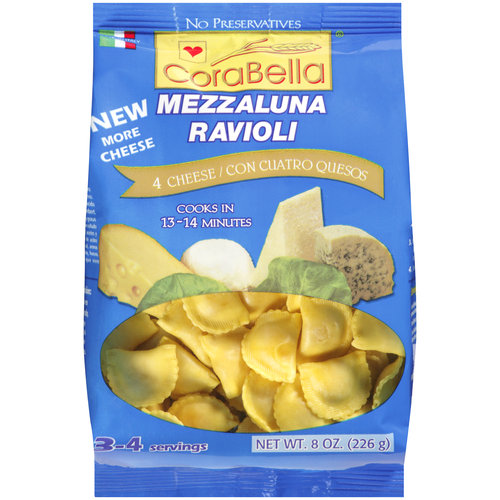 Corabella 4 Cheese Ravioli, 8 oz by Jagg Marketing 2000, Inc.