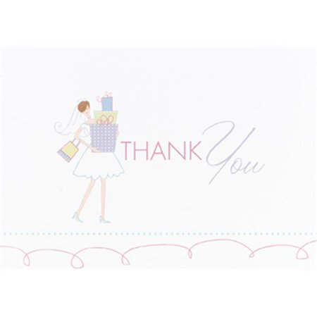 Hortense B. Hewitt 71406 Bridal Gifts Thank You Cards
