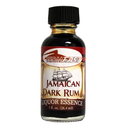 Fermfast Dark Jamaican Rum Liquor Essence 1 Oz (Bacardi White Rum 1 Litre Price In India)