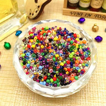 1000 PCs Mixed Round Czech Glass Seed Loose Spacer Beads Jewelry Making DIY 2 mm