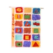 Creativity Street 18 x 27 in. Cotton Canvas Rectangle Create-Your Own Flag, Natural