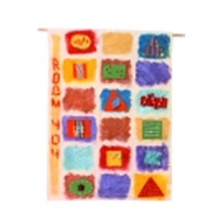 Customers Own Fabric (18 x 27 in. Cotton Canvas Rectangle Create-Your Own Flag, Natural )