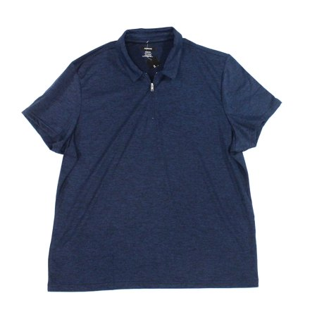 Lucky Mens Small 1/2 Zip Polo Rugby Shirt S
