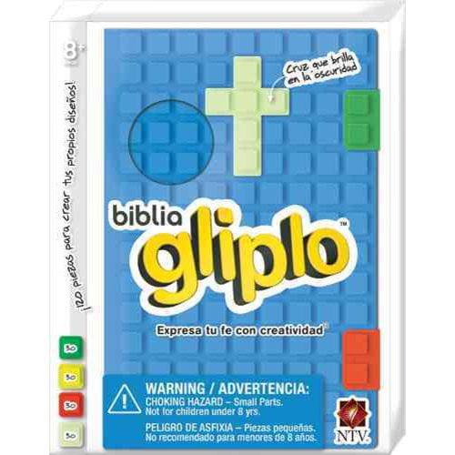 Santa Biblia: Nueva Traduccion Viviente, azul, silicona, biblia gliplo