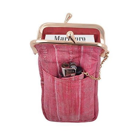 Waterproof Genuine Eel Skin Cigarette Case and Lighter (Eel Skin Cigarette)