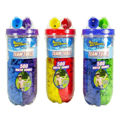 Water Splashers Team Tubz Water Balloons, 450ct