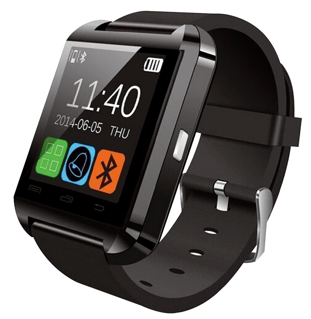 Hype Smart Watch for Kids Black