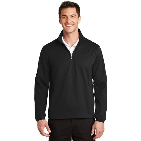 Port Authority Men's 1/2-Zip Soft Shell Jacket