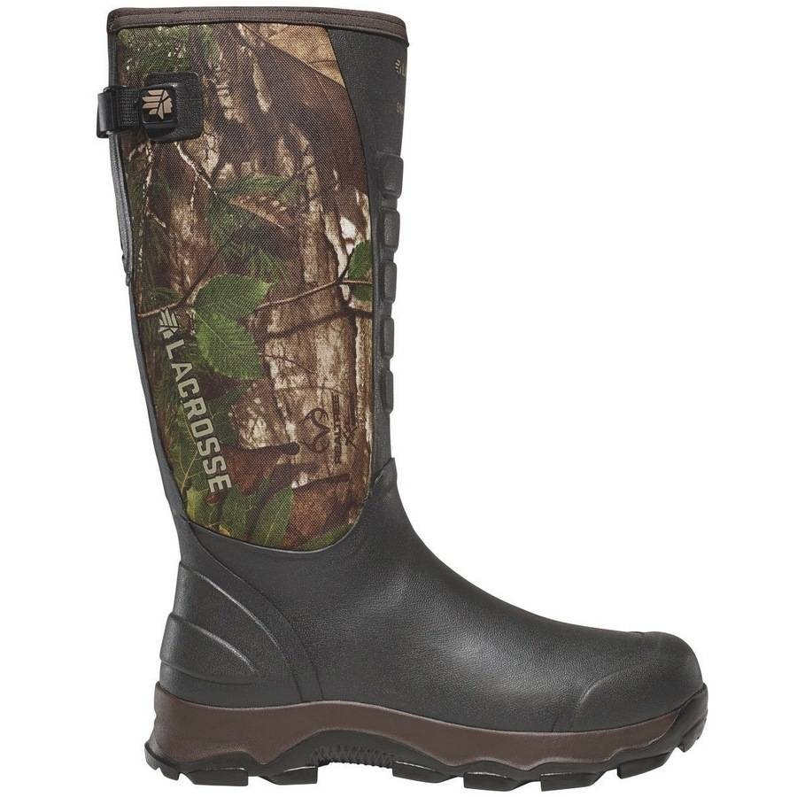 LaCrosse 4X Alpha Snake Boot, Realtree Xtra Green