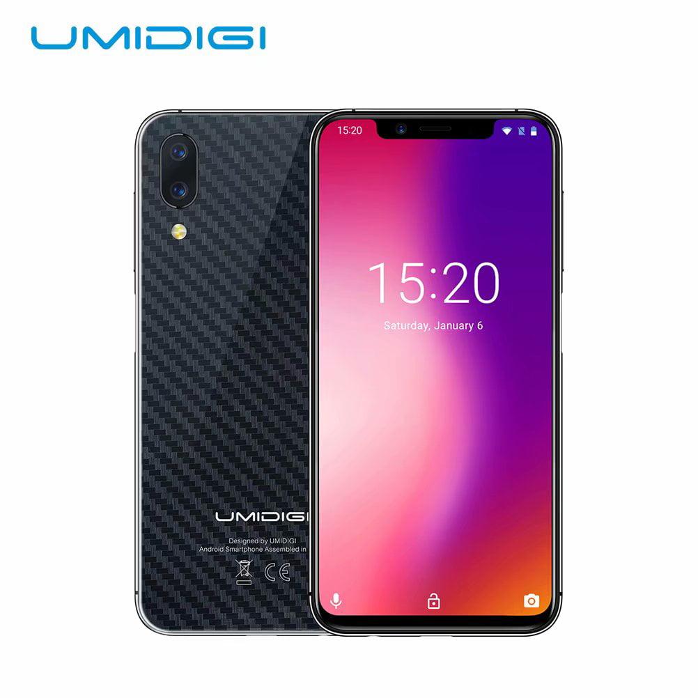 UMIDIGI One Pro Fingerprint Face Unlocked Smartphone, 4GB+ 64GB 5.9in Dual 4G Mobile Phone