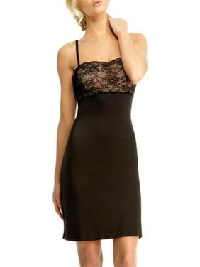 392ab860e1 Product Image Politesse Lace Shaper Slip - Elegant Shapewear by MeMoi Large    Black Nude SLU 155. SlimLuxe