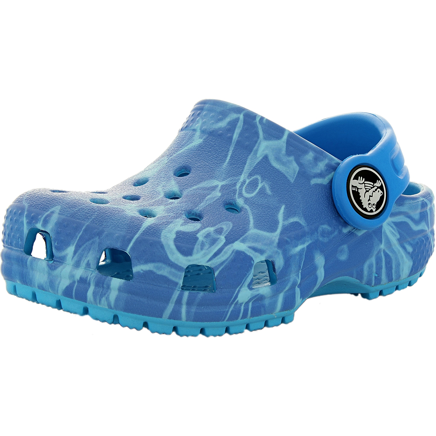 Crocs Boy's Classic Graphic Clog B Ankle-High Synthetic Flat Shoe by Crocs