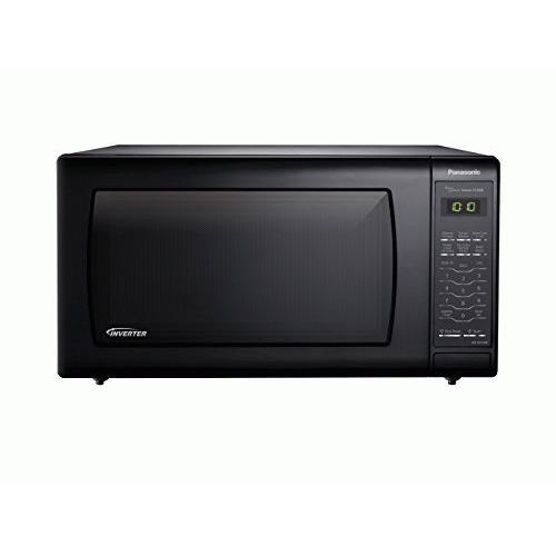 Horno PANASONIC NN-SN736B 1.6cuft de consumidor MWO inversor negro + Panasonic en Veo y Compro