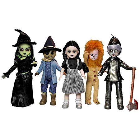 Living Dead Dolls Dollies - Living Dead Dolls Lost In Oz Set of 5 Dolls