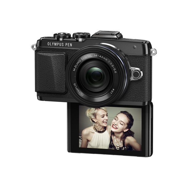 Olympus PEN E-PL7 - Digital camera - mirrorless - 16.1 MP - Four Thirds - 1080p - body only - Wi-Fi - black
