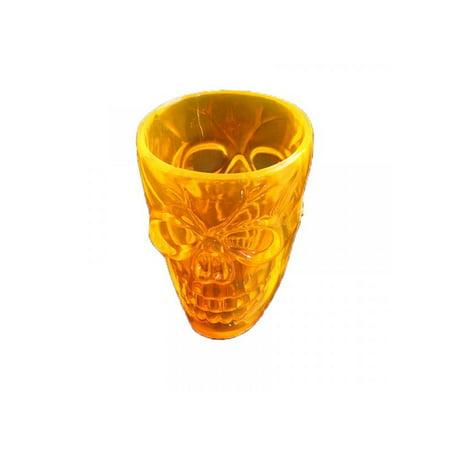 Halloween Drink Specials Nashville (Topumt Halloween 4PCS Skull Shaped Plastic Decorative Drinking)