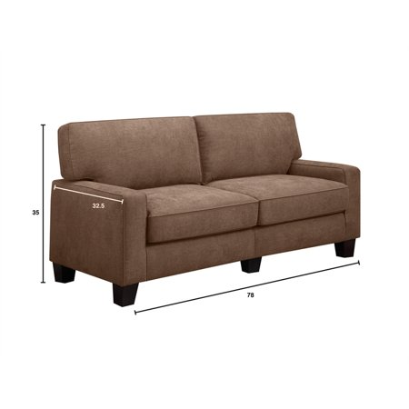 Serta Rta Palisades Collection 78 Quot Sofa In Fawn Tan