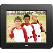 "Aluratek 8"" Motion Sensor Digital Photo Frame with 4GB Built In Memory (800 x 600 Resolution, 4:3 Aspect Ratio)"