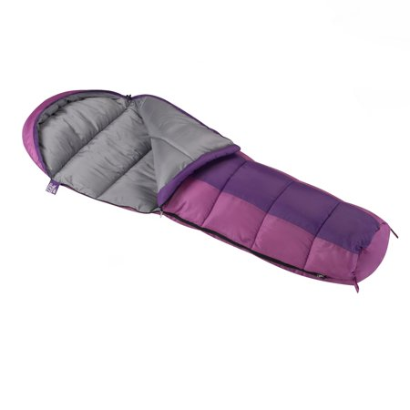 Wenzel Backyard 30-40 Degree Kids Mummy Sleeping Bag