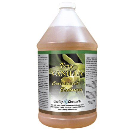 Very Vanilla - Concentrated yet economical deodorant - 1 gallon (128 -