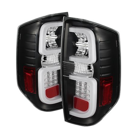- Spyder Toyota Tundra 2014-2016 Light Bar LED Tail Lights - Black