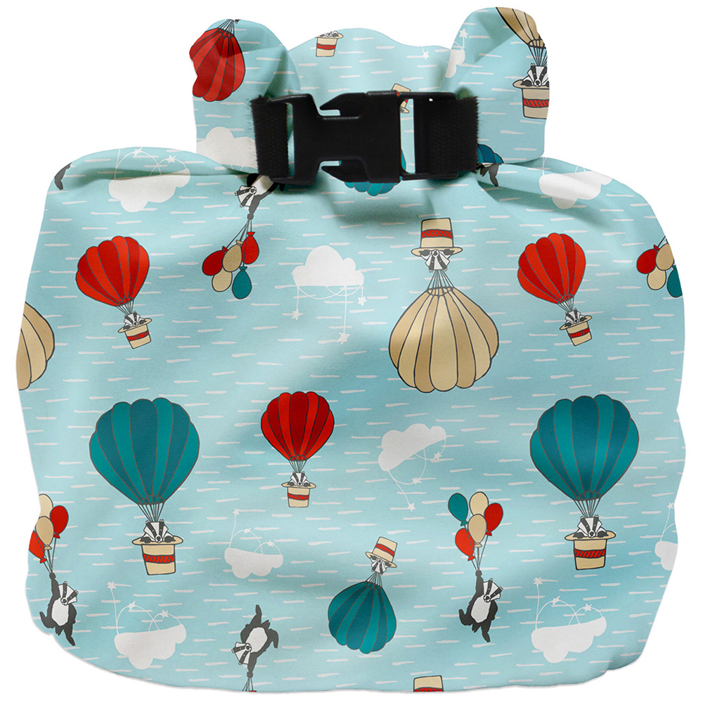 Bambino Mio, wet diaper bag, sky ride