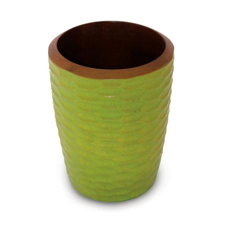 Enrico Mango Wood Utensil Vase