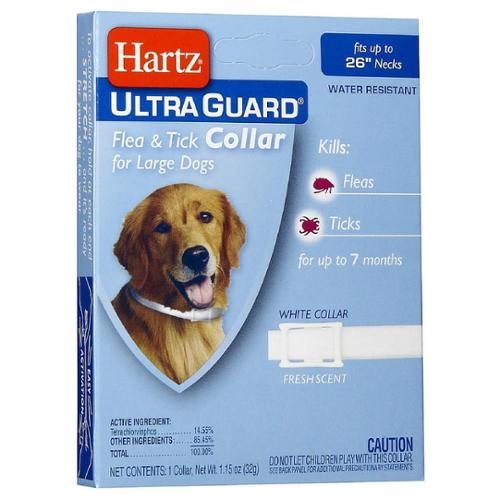 "Hartz Ultraguard Flea & Tick Dog Collar, Large 26"" 1 ea (Pack of 3)"