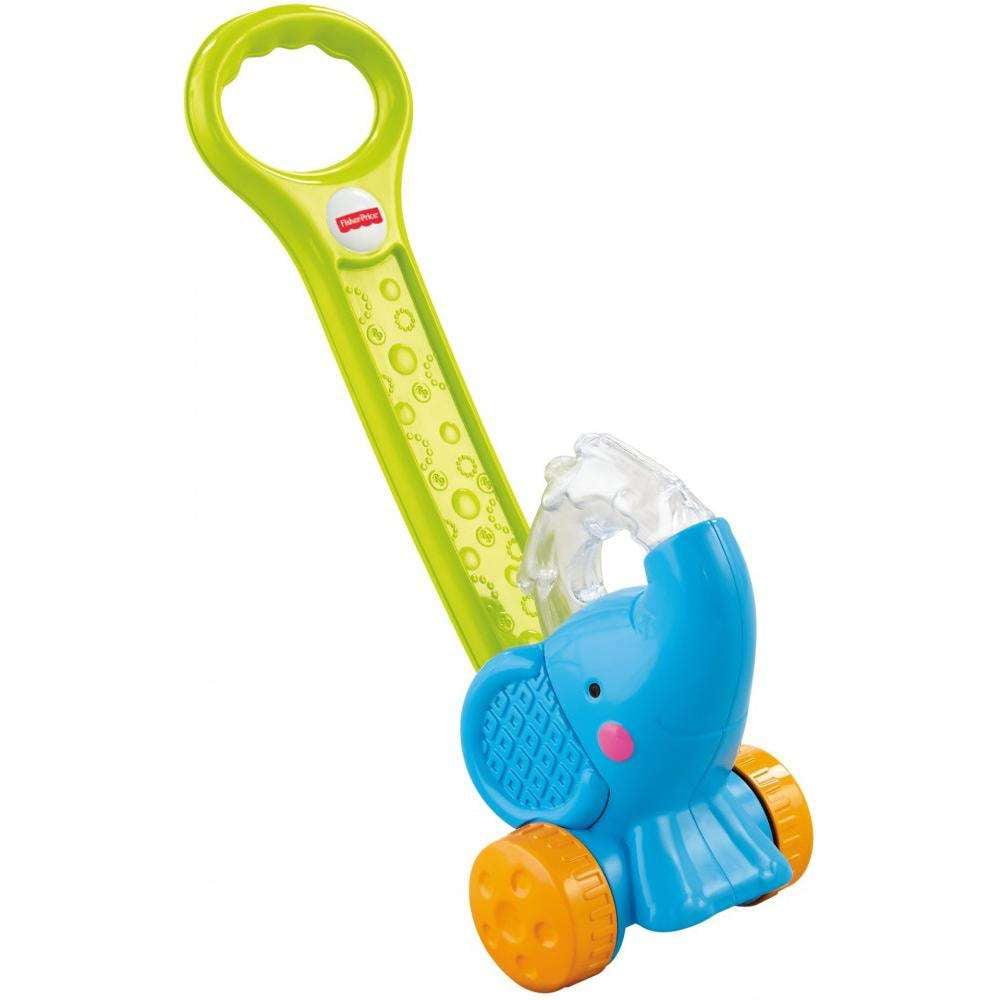 Fisher-Price Growing Baby Pop 'n Push Elephant