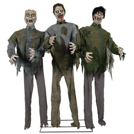 Generic MR124391 Zombie Horde Animated Prop Costume (Halloween Animated Zombie Props)