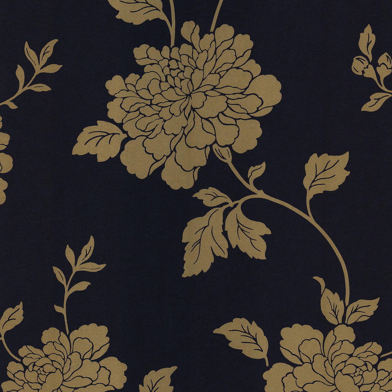 Kenneth James Keika Mauve Japanese Floral Wallpaper Walmart Com